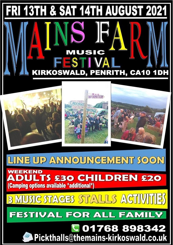 mains farm music festival 2021